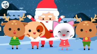 Santa Claus is coming to town | Christmas song for kids | Children Christmas songs | Boo and Lily