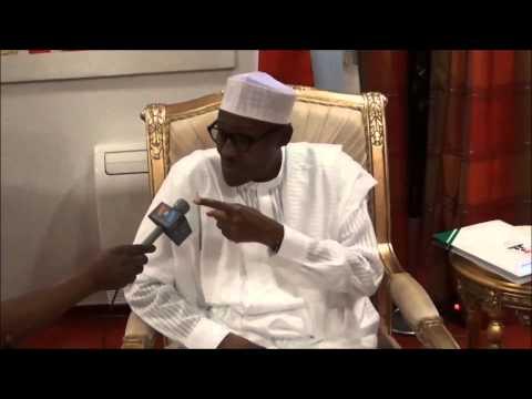 """Hirar Aliyu Mustapha na VOA da Shugaban Najeriya, Muhammadu Buhari a Ranar, Yuni 12, 2015 - 10'21"""""""