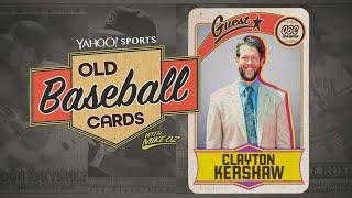 Clayton Kershaw opens 25-year-old baseball cards