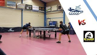 FERRIERE vs US ARNAGE | NATIONALE 3 | TENNIS DE TABLE | HIGHLIGHTS
