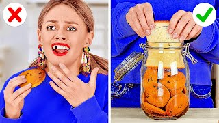 Food Tricks That Will Blow Your Mind || Smart DIY Food Hacks And Ideas To Save The Day