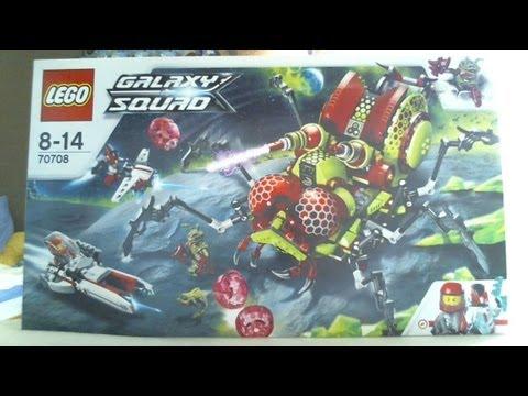 Vidéo LEGO Galaxy Squad 70708 : L'insecte tranchant