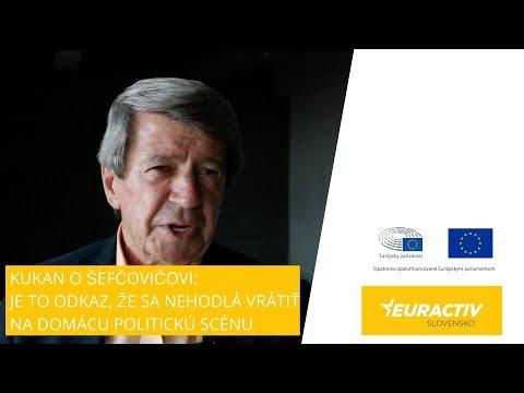 Kukan o Šefčovičovej kandidatúre na predsedu Európskej komisie: Je to odkaz, že sa nehodlá vrátiť na domácu politickú scénu