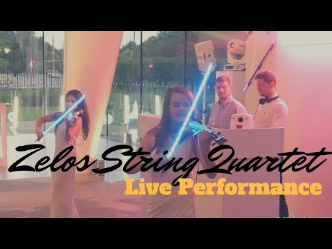 Zelos Electric String Quartet Video