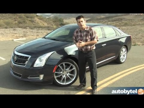 2014 Cadillac XTS Vsport Test Drive Video Review - 410 HP Twin-Turbo 3.6 Liter V-6