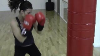 BURN FAT FAST WITH THIS BOXING ROUTINE! HEAVY BAG CIRCUIT AND WEIGHT LOSS WORKOUT by YourTimeTraining