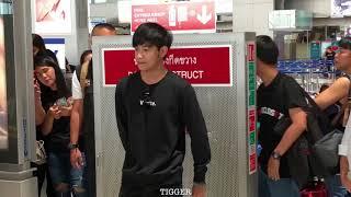 [FANCAM] Krist&Singto Heading To Singapore @ Suvarnabhumi Airport 30-06-2018