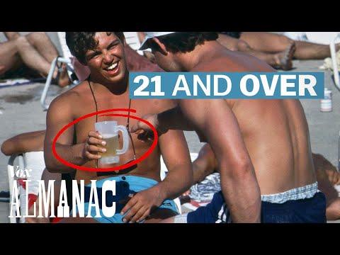 Proč se v USA smí pít až od 21 let?