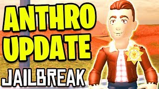 🔴 Roblox Jailbreak ANTHRO UPDATE! *RTHRO* | Anthro Reveal | Jailbreak Volcano Erupting Soon LIVE