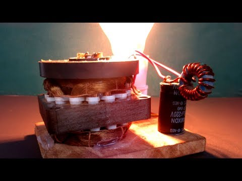 220 Volts Generator from 3.7 Volts – DIY Free energy electricity experiment project easy