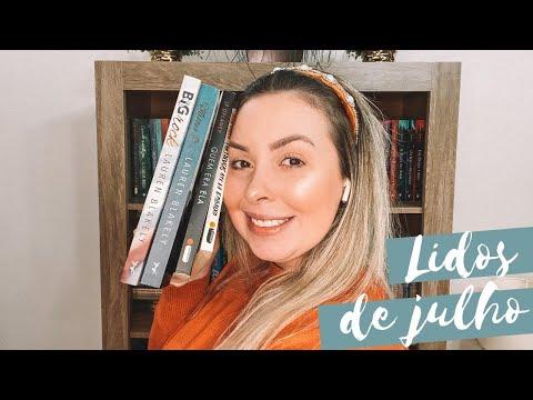 Lidos de julho | Isa Tessman do Apego Literário