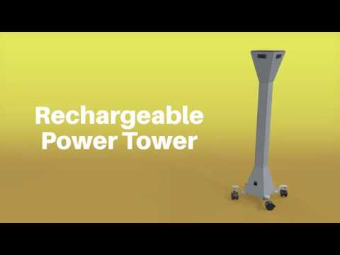 Rechargeable Power Tower - MooreCo