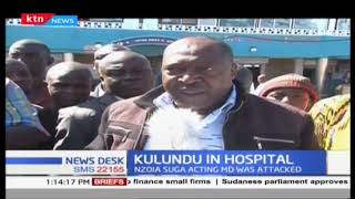 Nzoia sugar company Managing director Kulundu attacked and is admitted