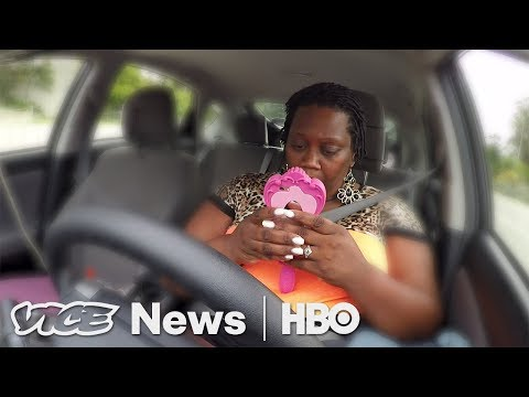 Driving For Uber, Sleeping In Her Car (HBO )
