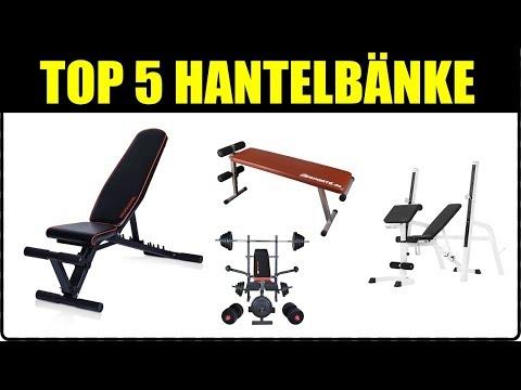 TOP 5 HANTELBÄNKE ★ Hantelbank für Zuhause ★ Hantelbank Test ★ Langhantelbank Test ★ Klappbar,...