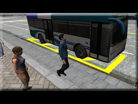 Vidéo 3D City driving - Bus Parking