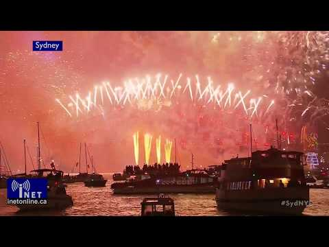 Happy New Year 2018! Celebrations around the World
