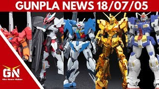 Gunpla News: OO Sky, Astray no Name, Stormbringer, Unicorn, Jegan, GM, Impulse, Sazabi