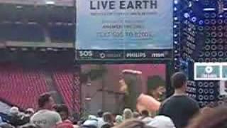 """Gimme Shelter"" - Live Earth Johannesburg clip"