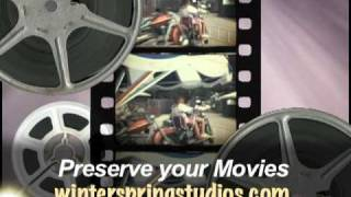 Movie Transfer to DVD: Done at our Wisconsin Rapids Video Studio.