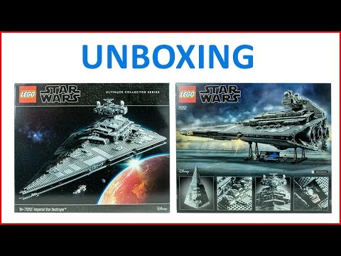 UNBOXING LEGO Star Wars 75252 Imperial Star Destroyer Ultimate Collector Series