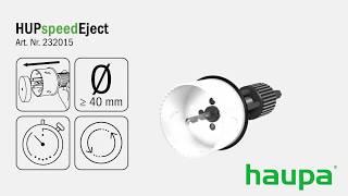 232015 Адаптер HUPspeedEject 40-250 мм (Haupa)