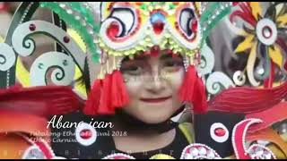 preview picture of video 'Ethnic festival tabalong 2018 carnival'