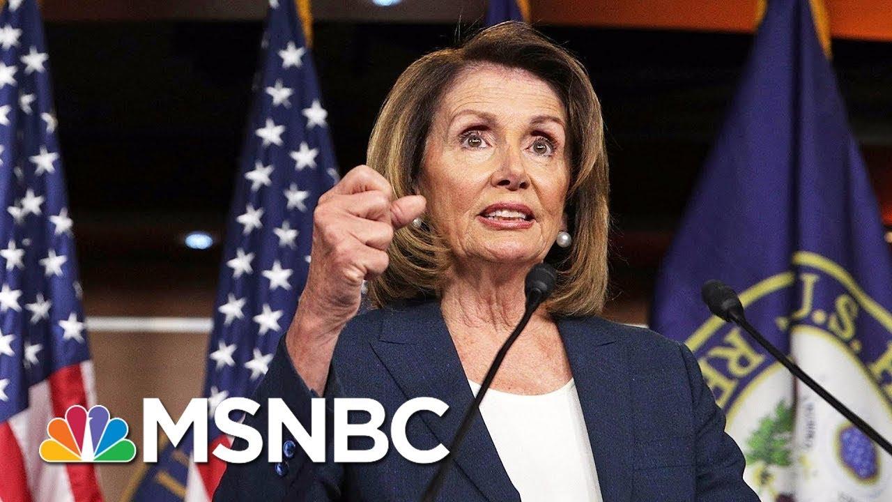 Top House Democrat Linda Sanchez Calls For House Minority Leader Nancy Pelosi To Step Down | MSNBC thumbnail