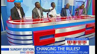 Sunday Edition: NASA opposed to new election law changes