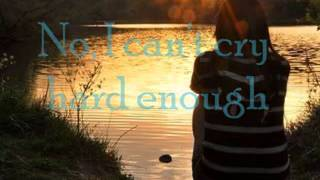 Can't Cry Hard Enough  Bellefire - ( with lyrics )