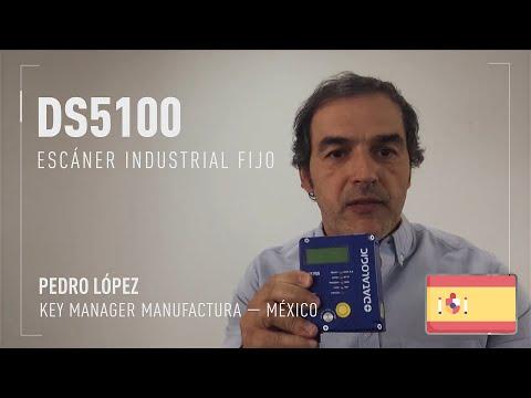 Datalogic DS5100 demonstration video (Spanish only)