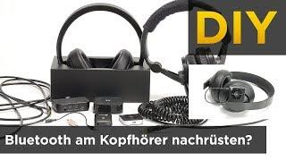 Bluetooth am Kopfhörer nachrüsten? Kabelgebundene Kopfhörer bluetoothfähig machen!