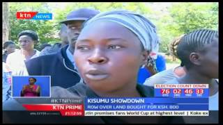Kisumu residents try to stop an exhumation after new owner claimed he had bought the land