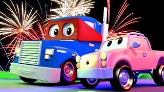 The Cherry Picker Truck - Carl the Super Truck - Car City ! Cars and Trucks Cartoon for kids