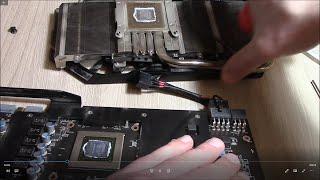 Обзор системы охлаждения Twin Froze MSI GTX 760 2 Gb. Замена термопасты