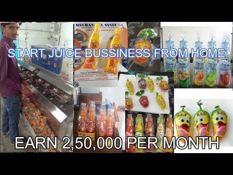 Fruit Juice  Pouch Filling Machine