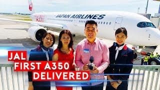 First Airbus A350 delivery to Japan Airlines
