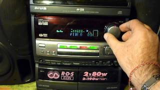 Gambar cover AIWA NSX-V900 / MP3 reading player