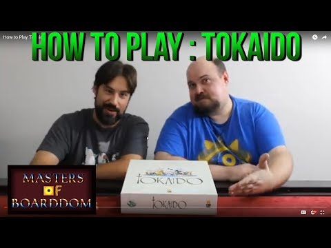 How to Play Tokaido - Masters of Boarddom