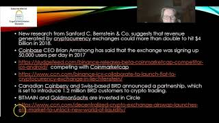 themes in Cryptocurrency markets_focus the exchanges Aug 201