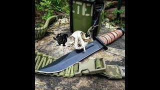 The Ultimate Kabar MkII Review- Bushcraft Knife?