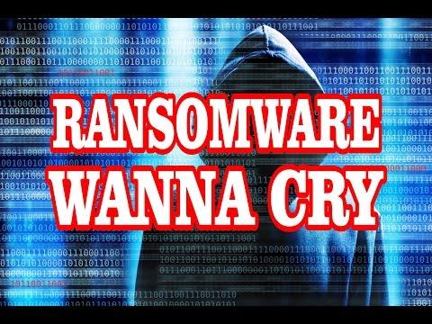 Video Komputer anda terkena virus Wanna Cry!. Ciri-ciri dan cara mencegahnya