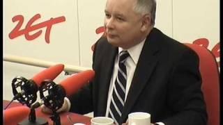 Jarosław Kaczyński nie wstydzi się Radia ZET