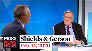 Mark Shields and Michael Gerson on New Hampshire primary, Trump vs. DOJ