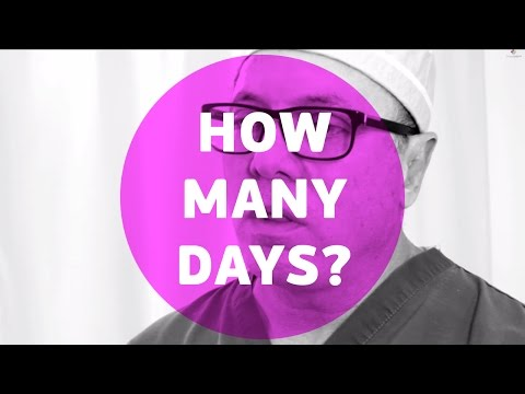 How many days do you need to be in Miami before/ after your procedure.