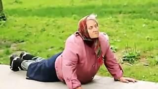 Самое смешное видео. Бабушкины видео приколы!