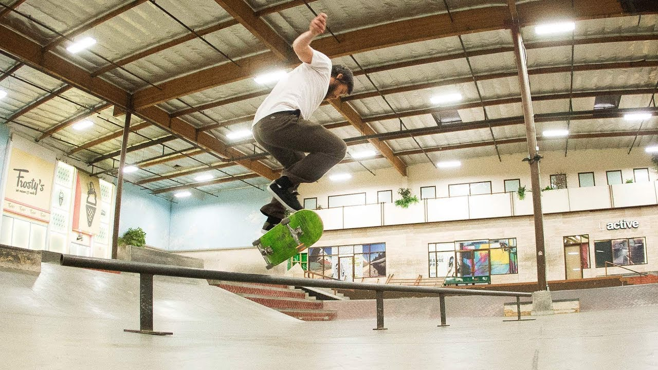 David Reyes - He Could Go All The Way - The Berrics