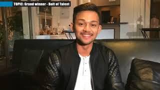 Grand winner - Bolt of Talent - Experts Opinion