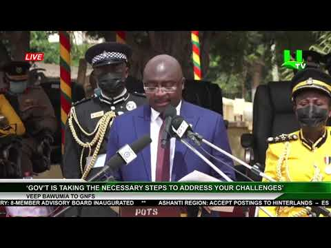 'Gov't Is Taking The Necessary Steps To Address Your Challenges' -  Dr. Bawumia