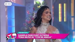 """Daniela Darcourt Presentó En Vivo Su Nueva Canción """"Con Mi Amiga"""""""